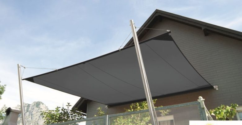 Photo of Super lækkert solsejl til den lette stil på terrassen