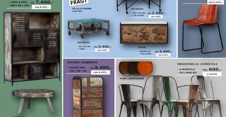 Photo of Industrielle møbler i lækkert design